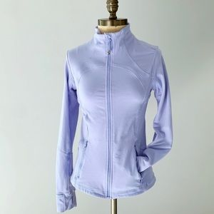 LULULEMON forme jacket lavender zip